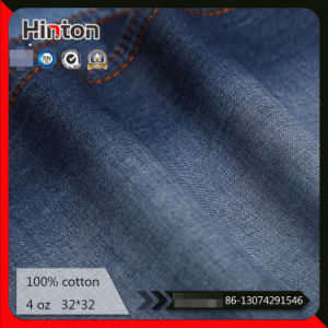Factory Hot Selling 32*32 4oz 100% Cotton Denim Fabric pictures & photos