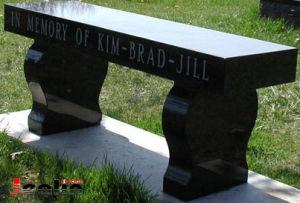 Granite Garden Bench (JS-TC-005)