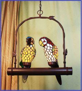 china tiffany art macaw ceiling lamp china tiffany lamp tiffany. Black Bedroom Furniture Sets. Home Design Ideas