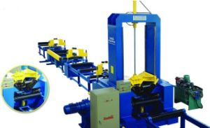 H Beam Assembling Machine, H-Beam Welding Machine, H-Beam Line pictures & photos
