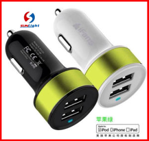 3A Dual USB Car Charge for Iphonn/iPad pictures & photos