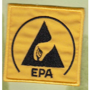 Square Embroidery Patch for EPA 20*20mm