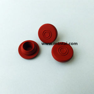 20mm Red Color Butyl Rubber Stoppers pictures & photos