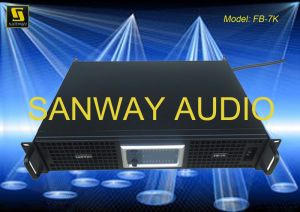 Switching Power Amplifier, 4 Channel Powerful PA Amplifier (Sanway FB-7K) pictures & photos
