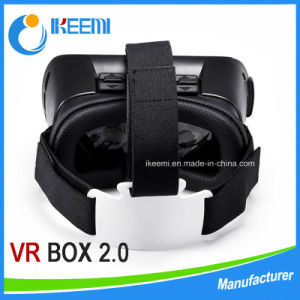 Factory Supply 3D Head Mount Vr Box 2ND Generation Virtual Reality Vr Glasses & Bluetooth Remote Control pictures & photos