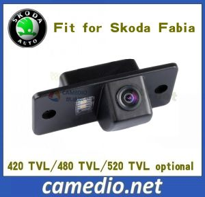 170 Degree Waterproof 480TV Lines OEM Rear View Backup Car Camera for Skoda Fabia pictures & photos