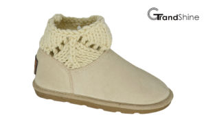 Kids New Arrival Knitting Shaft Snow Mini Boots pictures & photos