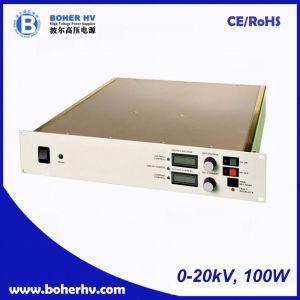 High Voltage Power Supply 100W 0-20kV LAS-230VAC-P100-20K-2U pictures & photos