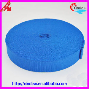 Blue Woven Knitted Elastic Tape (XDWK-003) pictures & photos