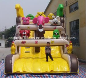 Hot Sale Jungle Inflatable Slide