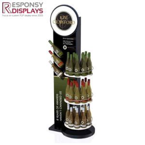 Pop Customized Chinese Supplier Energy Drink Display of Store Display Rack pictures & photos