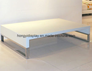 White Color PU Painting Tea Table, Coffee Table, Home Furniture pictures & photos