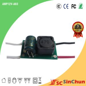 2015 Step-up LED Driver with AC/DC12-24V 900mA Constant Current (ANP12V-A03)