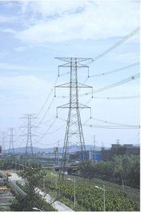 500kv Lattice Transmission Steel Tower
