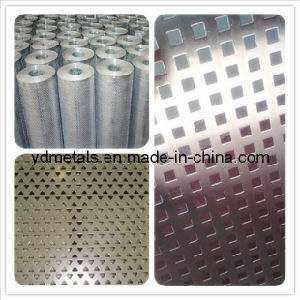 Ss304 Stainless Steel Perforated Metal Mesh pictures & photos