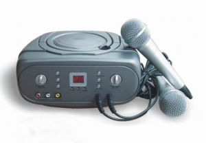 Portable CD Player with Echo Karaoke (W-KG009)