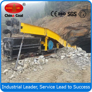 P60b Electric Scraper Loader Matched with Bucket Mining Car pictures & photos