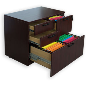 Modern High Quality MFC Board Combo Lateral File Storage Cabinet pictures & photos