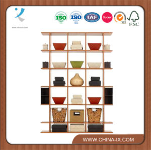 Floor Standing Gondola 4′ Wide X 5.5′ Tall Display Stand pictures & photos