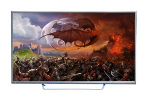 "50 "" Smart 3D LED Ultra HD Display pictures & photos"