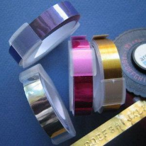 Adhesive Metallic Tape With 9mm Width, Suitable for Tape Writer