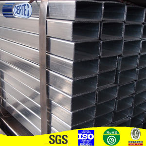 Hot Dipped Galvanized 40X60mm Gi Rectangular Steel Pipes (JCGR-03) pictures & photos