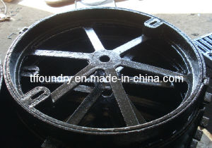 Sii B125 Municipal Ductile Cast Iron Round Manhole Tops pictures & photos