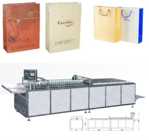 Model Handbag Bottom-Gluing Machine (GY-50) pictures & photos