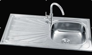 single bowl stainless steel kitchen sink ky 10050. beautiful ideas. Home Design Ideas