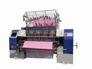 High Speed Computerized Shuttle Multi-Needle Quilting Machine (YXS-64-3C) pictures & photos