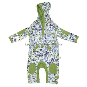 Baby Coverall With Hood pictures & photos