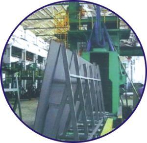 Steel Plate Pretreatment Line Wheel Blasting Equipment (QXY)