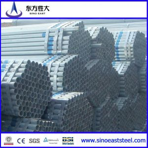 BS 1387 Pre Galvanized Steel Pipe pictures & photos