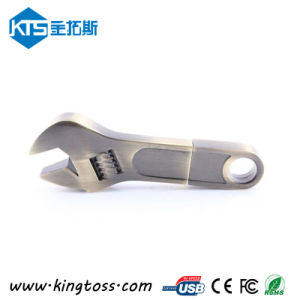 New Wrench Metal Pen Driver with Free Laser Logo (KTS01092)
