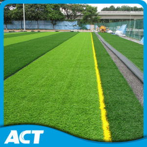 2016 Good Quality Soccer Grass Triple Backing Artificial Grass (W50) pictures & photos