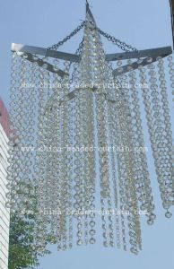 Acrylic Crystal Beaded Chandelier for Wedding & Chandelier Lamp Ceiling (CH002)
