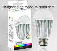 7W E26 E27 B22 WiFi Control Bluetooth Control Remote Smart LED Bulb LED RGBW Decoration Bulb with Ce RoHS