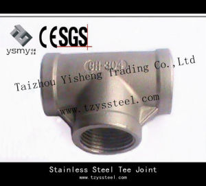 316 Stainless Steel Pipe Fitting and Tee Joint