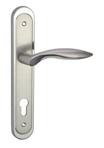 Door Lock Handle (Zinc- 64 H52 MN/NP)