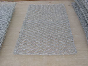 Hot-Dipped Galvanized Gabion Mesh S0205 pictures & photos