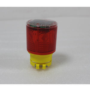 Waterproof Solar Powered Construction Pier Jetty Quay Safety Flashing Strobe Beacon Light pictures & photos