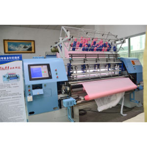 Yuxing 128 Inches Multi-Needle Shuttle Quilting Comforter Machine pictures & photos