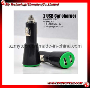 Dual USB Car Charger for iPad/iPhone/iPod (MYT-CR3007)