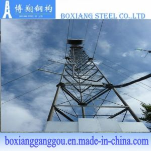 3 Legged Tubular Communication Steel Tower