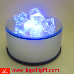 Colorful Changing Color LED Rotary Base With USB Interface (JZM-621)