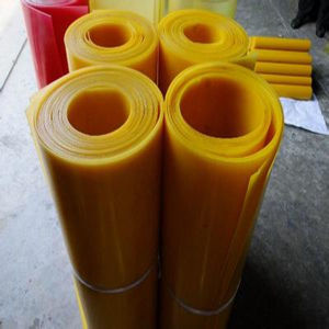 Polyurethane Sheet, PU Sheet with Yellow Color pictures & photos