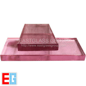 Colored Crystal/ Pink Crystal/Building Glass pictures & photos
