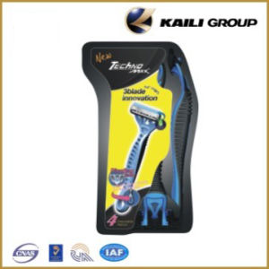 Popular Triple Blade Disposable Razor for Shaving pictures & photos