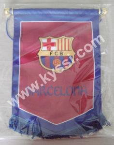 La Liga Spanish Association Football League Soccer Team Football Team Pennants