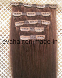 100% Chinese Remy Clip in Lace Human Hair Extension